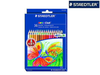 36 X Staedtler Farbstifte Buntstifte Noris Club Doppeletui 144Nd36 Top !!!