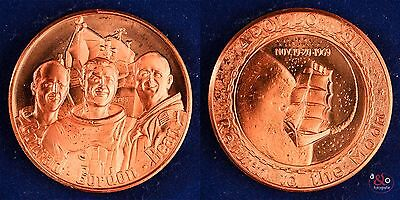 Medaille 1969 Apollo XII, Return to the Moon - Kupfer Relief - 24,1g 38mm
