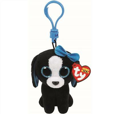 Ty Beanie Babies 35013 Boos Tracey the Dog Boo Key Clip
