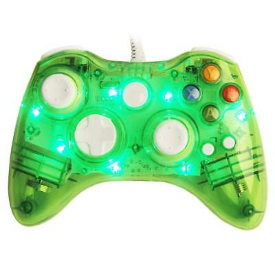 Glow USB Wired/Wireless Game Controller For Microsoft Xbox 360 Slim&PC Afterglow