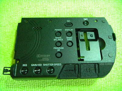 Genuine Sony Hdr-Cx900 Rear Control Button Part For Repair