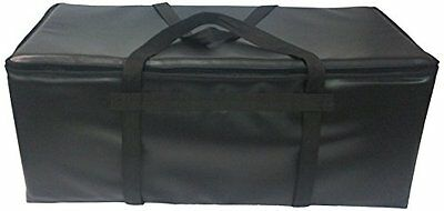 TCB Insulated Bags GP-3-Black Insulated Pizza Delivery Bag, Holds 10 Each 16""