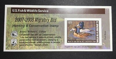 #RW74A 2007 - 2008 - US Federal Duck Stamp - Post Office FRESH