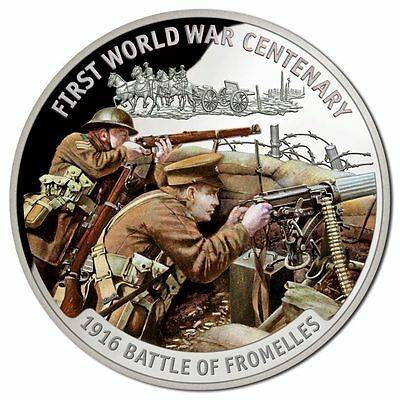 2016 $10 WWI Centenary - Battle of Fromelles Silver Proof Coin (SH207)
