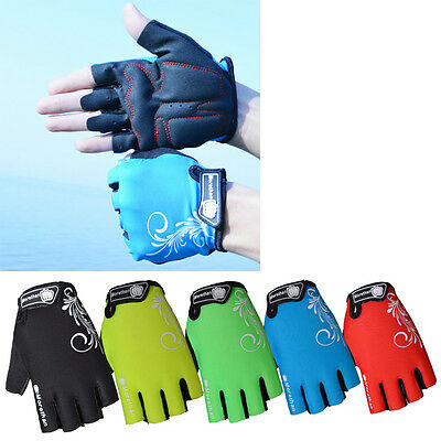 Bicycle Bike Gloves Breathable Anti-slip Anti-shock Half Finger Cycling Gloves
