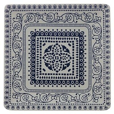 New Maxwell & Williams Blue Antico 30cm Square Platter Gift Boxed