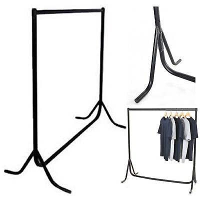 Heavy Duty 5ft 5' Clothes Rail Hanging Garment Dress Display Steel Stand Rack