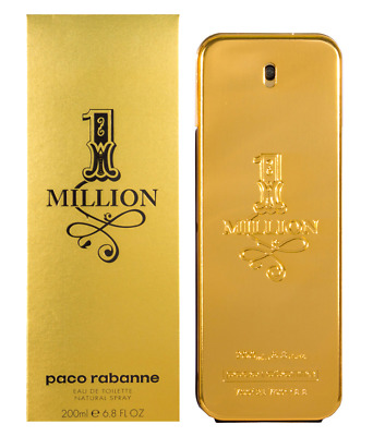 Paco Rabanne 1 One Million Eau De Toilette 200Ml Edt Neu & Ovp