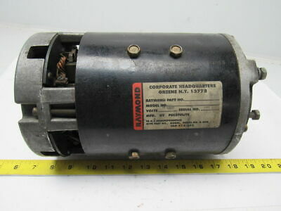 RAYMOND PRESTOLITE 570-445-100 MGQ 4007 36Volt DC Motor Tested Good
