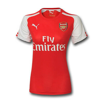 Puma Women's Arsenal 14/15 Home Jersey High Risk Red/White 746473 01
