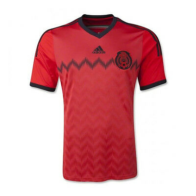 adidas Youth Mexico 2014 Away Jersey Red/Black G74511