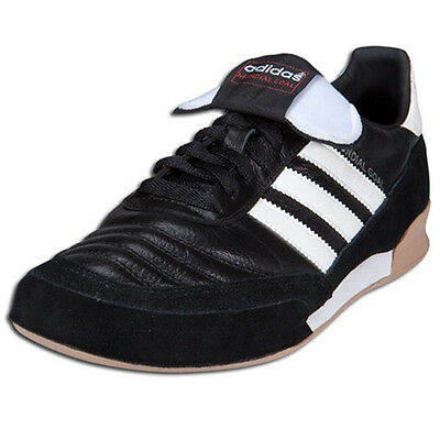 744a543a7 ADIDAS MEN S MUNDIAL Goal Indoor Soccer Shoes Black White 019310 ...