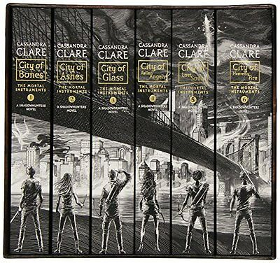 The Mortal Instruments Complete Collection: City Of Bones City Of Ashes Books