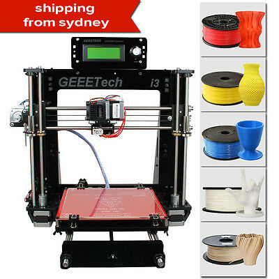 Duty-Free Geeetech 3D Printer Full DIY Kit Reprap Prusa I3 Pro B from AU