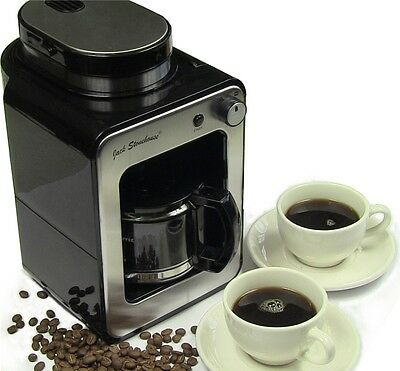 Jack Stonehouse Bean to Cup Coffee Machine Grind and Brew Coffee Maker