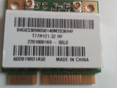 ASUS X54H Wireless Wifi Internal Card 04G033098050