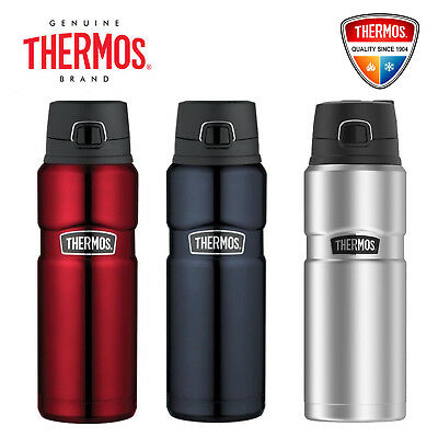 THERMOS Stainless King Vacuum Insulated 24oz 710ml Leak-Proof Drink Bottle