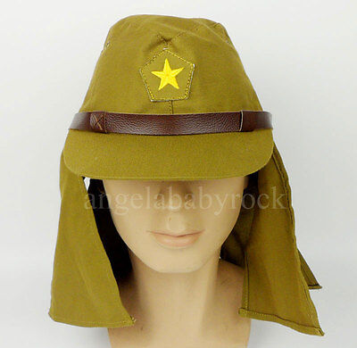 Wwii Japanese Soldier Hat Cap Size M-0125