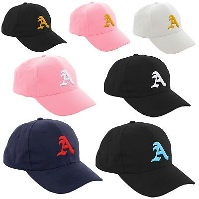 6f05187d443 Boy Girl Baseball Cap Kids Gothic Letter A Adjustable Children Snapback Hat  LA