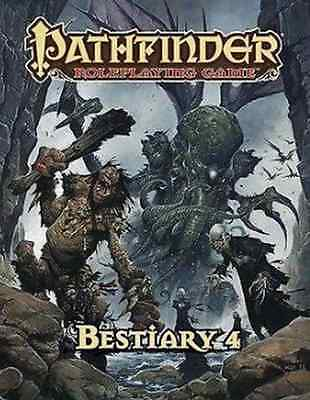 Pathfinder Role Playing Game Bestiary 4 Hardcover by Paizo PZO 1127