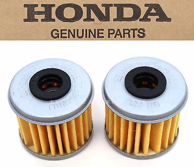 New Genuine Honda 2 Oil Filters CRF150R 250 450 R X TRX450R ER (See Notes) X66
