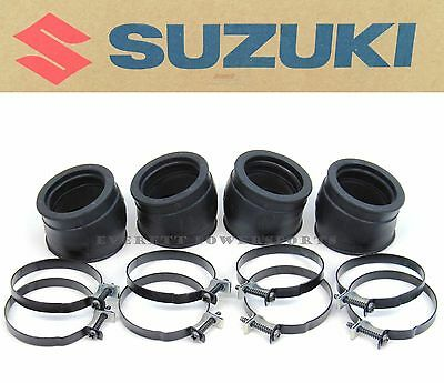 Intake Manifold Insulator Boot Boots Clamps 83-86 GS 1150 E ES Carb (Notes) #F81