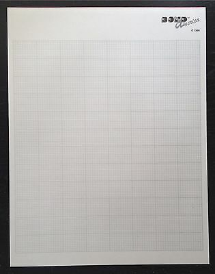 Grid Paper for Bond Ultimate Sweater Machine & Other Knitting Machines
