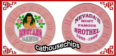 MUSTANG RANCH Nevada Cathouse  Whore House NEVADA MOLD MINT Condition
