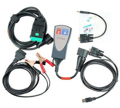 NewPP2000 lexia 3 With Diagbox Citroen Peugeot Diagnostic Tool Scanner Interface
