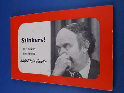 Stinkers! Book Bill Hanley Paul Hardy Political Humor Pierre Trudeau