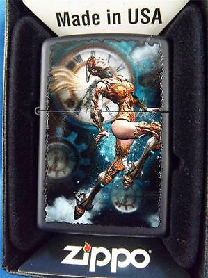 Zippo Steampunk Aviator Lighter Mystical Fantasy Girl Sealed New In Gift Box