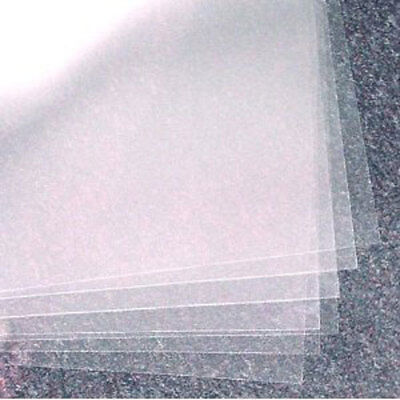 A4 Acetate (Transparent Sheets) Pack 250mic - 5 sheets