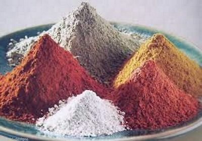 Soap Making Clay  Australian CLAY  ASSORTED COLOURS, 100 grams each