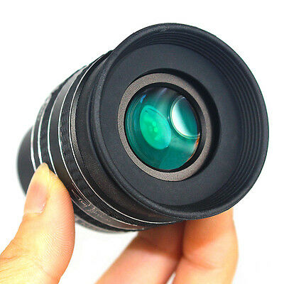 SWA 1.25inch 58-Deg 2.5mm Planetary Eyepiece for Telescope Black with lens caps