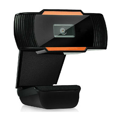 USB 12.0MP HD Camera Web Cam 360° with MIC Clip-on for Skype Computer PC Laptop
