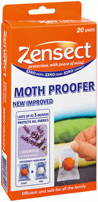 Zen' Sect By Vapona Moth Proofer 20 Units - Effective for up to 3 months