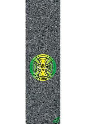 "MOB Griptape Independent Fountain Green 9""x33"" Skateboard Longboard MiniCruiser"