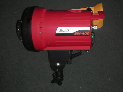 Menik SW-400 Photo Lighting Professional Studio Mono Strobe Flash Light