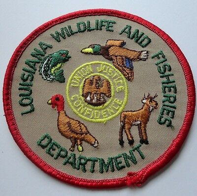 Louisiana Wildlife and Fisheries Department Game Management Patch