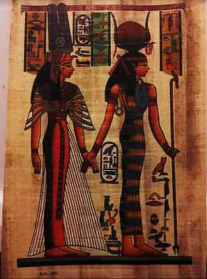New Egyptian Papyrus Paintings Picture Art Hand Painted Made in Egypt*117*
