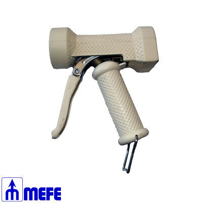 "WATER GUN HEAVY DUTY WHITE - 1/2"", 25 BAR, Op Temp 65°C - 85°C max (CAT 80W)"