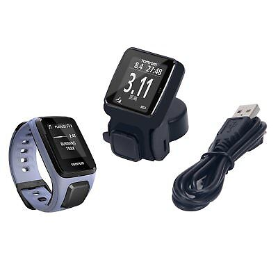 USB Charging Cardle Dock Sync Data Cable For TomTom Spark Music Cardio GPS Watch