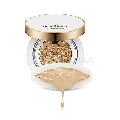 [BERRISOM] Oops Real Honey Cushion (SPF50+/PA+++) 15g / Cover makeup