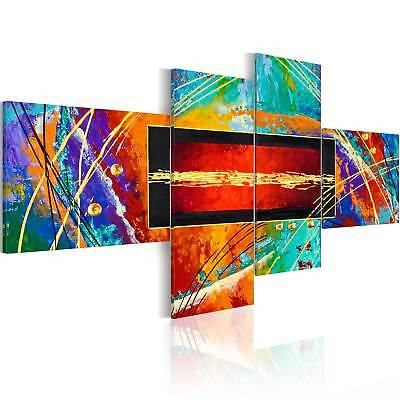 IMPRESSION IMAGE SUR TOILE XXL! ART TABLEAU *2 formats* ABSTRACTION a-A-0111-b-i