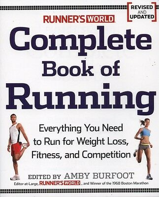 """NEW BOOK Runner's World"""" Complete Book of Running by Amby Burfoot"""