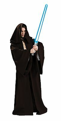 Halloween LifeSize Star Wars JEDI ROBE SUPER DELUXE Adult Men Costume
