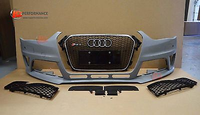 Audi A4 Rs4 B9 Front Bumper 2012 Sline Facelift Rs4 S4 Se Rs4 Look | Uk Stock
