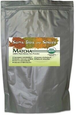 USDA Certified Pure Organic Matcha Green Tea Powder 960g  (2.1lbs) NO ADDITIVES