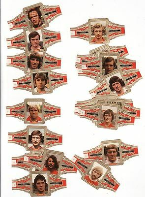 24 cigar bands Lugano Football Players  iss in