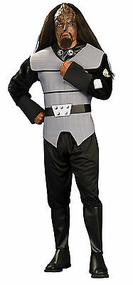 Halloween Star Trek KLINGON DELUXE STANDARD ADULT MEN COSTUME Haunted House